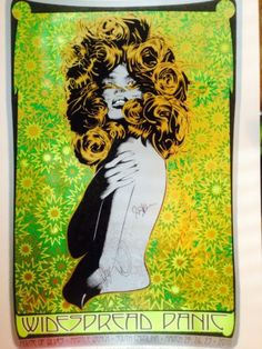 Widespread Panic Poster Chuck Sperry Signed by Band Myrtle Beach 2010 | eBay  Charity Auction ends 4/27.
