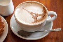 There is nothing like some art first thing in the morning.  Vida e caffe coffee and life.