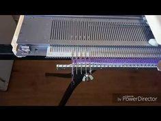 В данном видео я показала как можно связать бактус на однофонтурной вязальной машине с незакручивающейся планкой по периметру с имитацией репса, декоративным руликом по центру, способом на убавках.