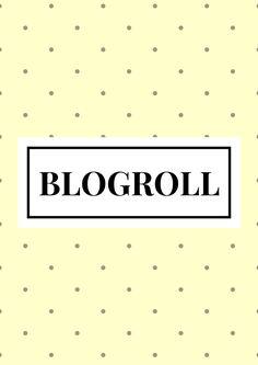 Lista de blogs que eu curto, como fazer o seu blogroll!