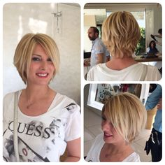 Balayage , blonde , hair , short hair