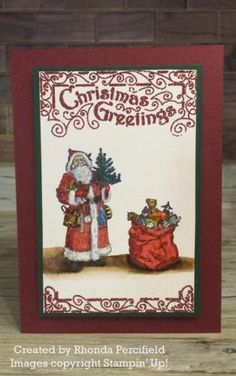 Amy's Inkin' Krew Featured Stampers – Stamp With Amy K | Father Christmas
