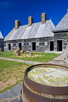 Courtyard at Port Royal National Historic Site near Annapolis Royal, Bay of Fundy, Evangeline Trail, Nova Scotia, Canada. Jamaica, Barbados, O Canada, Canada Travel, Honduras, Bolivia, Annapolis Royal, Costa Rica, Puerto Rico