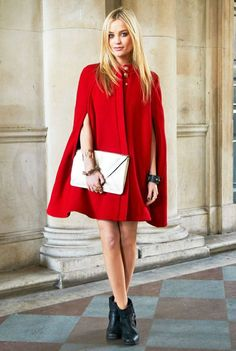 cape-red-street-style-boots-clutch