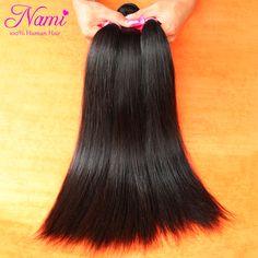"$106.29 (Buy here: https://alitems.com/g/1e8d114494ebda23ff8b16525dc3e8/?i=5&ulp=https%3A%2F%2Fwww.aliexpress.com%2Fitem%2F6A-Unprocessed-Brazilian-Virgin-Hair-Straight-Human-Hair-Extenstions-3-pcs-4pcs-lot-12-32-No%2F2049449297.html ) Nami Hair High Quality Brazilian Straight Virgin Human Hair Weave Extensions 3pcs/Lot  8""-32"" Brazilian Human Hair Weave Bundles for just $106.29"