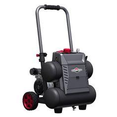 Briggs & Stratton 1-HP 4.5-Gallon 125-PSI Twin Stack Electric Air Compressor