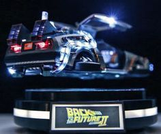 Magnetic Floating DeLorean Time Machine