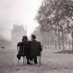 Tuileries Garden, paris 1945