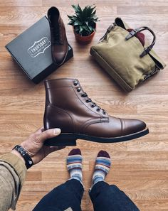 Great Boots. Great Materials. Thursday Boots #thursdayboots