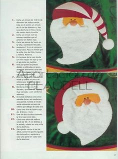 ARTE COM QUIANE - Paps,Moldes,E.V.A,Feltro,Costuras,Fofuchas 3D: Molde Saia para árvore de natal