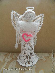 crochet doily angel