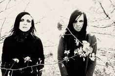 Ricky Olson & Angelo Parente of Motionless In White so gorgeous it hurts
