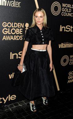 Diane Kruger -  Fashion Flashback: Embrace The '90s-Inspired Crop Top Trend