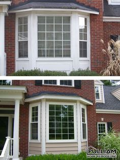 bay window siding options | beautiful vinyl bay window from Sun ...