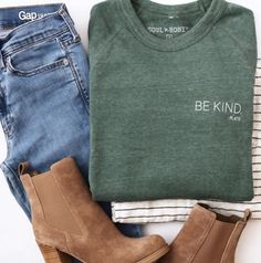 Be Kind | Soul Honey Clothing ...outfit ...sweatshirts ...quotes https://www.musclesaurus.com