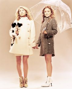 Mary Kate and Ashley may I please have your shoes!