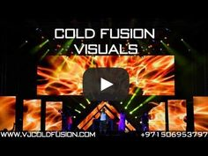 VJ Cold Fusion showreel 2013 - international VJ & Visual Demo