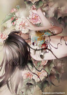 ✯ Awaken of the Spring .:☆:. Artist Zhang Xiao Bai ✯
