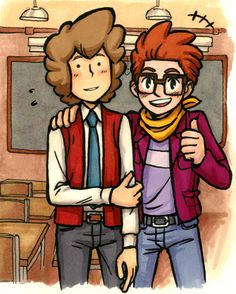 I don't know... I have trouble keeping in mind that Layton once had hair like this.