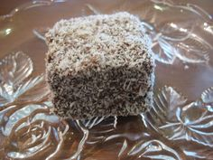 These lamingtons are worth a go in the Thermomix