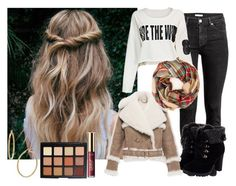 """""""Untitled #349"""" by ines-321 ❤ liked on Polyvore featuring H&M, Burberry, Bony Levy and tarte"""