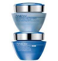ANEW REJUVENATE Day & Night Duo- Address the early signs of aging with Mini-Extraction Technology, Exo-Smoothing Complex, and Revitafresh Technology.  Regularly $34.99, buy Avon Skincare online at http://eseagren.avonrepresentative.com