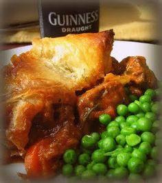 Savory Steak and Guinness Pie   AllFreeCasseroleRecipes.com