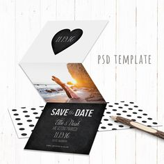 Photo Save The Date Template Printable Save The Date Design Gold