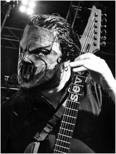 Mick Thomson of Slipknot.
