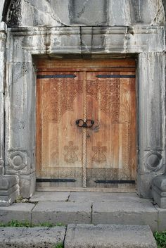 Entrance to Gavit of St Nishan Church - Haghpat Monastery - Haghpat, Armenia by jrozwado, via Flickr