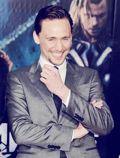 tom hiddleston god of mischief indeed.