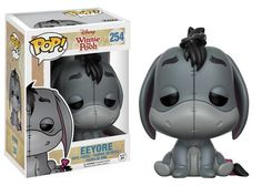 Pop! Disney: Winnie the Pooh Winnie the Pooh and pals are the latest additions to the Pop! family! Head down to Pooh Corner and find friends like Piglet, Eeyore, Roo, and Pooh Bear himself! Keep your honey away from the Heffalump and Woozle! Look for Heffalump's pink chase variant, a 1 in 6 rarity! Collect exclusive figures at some of our retail partners: Blue Eeyore and Striped Heffalump are available only at Barnes & Noble, and flocked Pooh is available at Hot Topic! Coming this winter!...