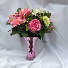 Send flowers directly from a real local florist. Fresh flowers, same-day delivery. Send Flowers, Fresh Flowers, Local Florist, Flower Delivery, Flower Designs, Flower Arrangements, Pink, Gifts, Floral Arrangements