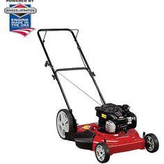 "Murray 22"" Gas-Powered High-Wheel Lawn Mower  Walmart $169"