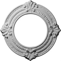 Ekena Millwork CM11BN 11 1/8-Inch OD x 6 1/8-Inch ID x 5/8-Inch Benson Ceiling Medallion >>> Check out this great image  : home diy improvement