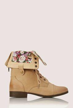 Pretty Tough Combat Boots