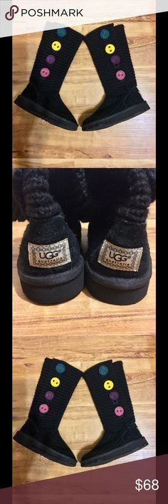 Ugg Boots Cute Colorful UGG Kids Boots👢👢Children Size 11👢Preloved! Worn Gently only ! UGG Shoes Boots