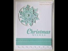 ▶ Festive Flurry Christmas Card - YouTube
