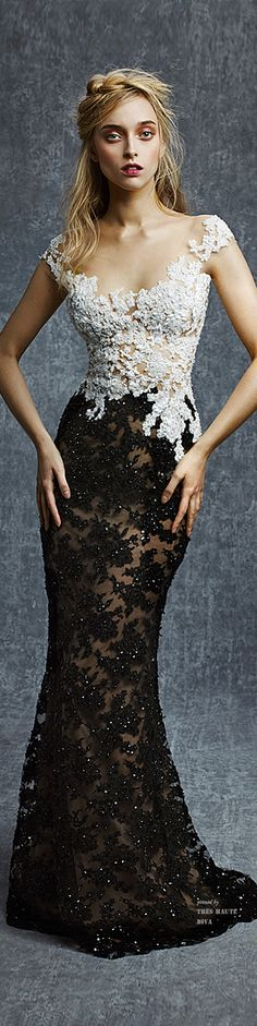 Reem Acra Pre-Fall 2015 prom dress #promdress .http://www.newdress2015.com/prom-dresses-us63_1one of those pretty dress,creepy model pics