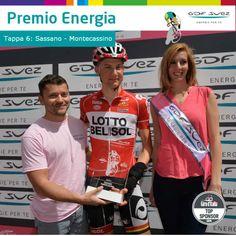 È Tim Wellens il vincitore del Premio Energia della sesta tappa. Gli porterà fortuna come successo a Bouhanni?