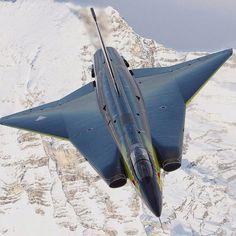 SAAB-J-35 DRAKEN