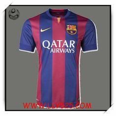 Acheter Boutique Football Maillot de foot Barcelona Véritable 2014 2015 Domicile