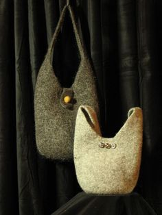 Many felted bag patterns - lots of different shapes and sizes