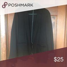 Maurice's Black Blazer Maurice's Black knit blazer - striped lining.  Sz 3X.  Has pockets. Maurices Jackets & Coats Blazers