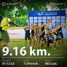 My recent activity! - 9.16 km Running #health #sport #runstagram  #runstagrammer #metasport #aquathlon #singaporeaquathlon #triathlon #triathlete #runforabettertomorrow #sgrunners #instarunner #instarunners #instarun #worlderunners