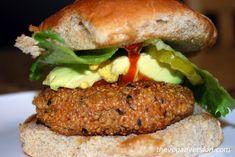 Quinoa Veggie Burger / Sandwich   One Green Planet
