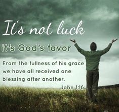 #WithALittleLuck  More people will realize that that every good luck is an undeserved blessing from God.  If all you have is Christ, then you have all you need!  #God #Jesus #HolySpirit #Pray #Prayers #Bible #Scripture #BibleVerse #Christian #Christ #Blessed #Blessings #Grace #Luck #Lucky #MondayMotivation