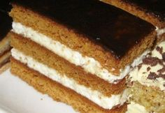 Hungarian Desserts, Hungarian Recipes, Cookie Recipes, Dessert Recipes, Tiramisu Cake, No Cook Meals, Bakery, Food And Drink, Sweets