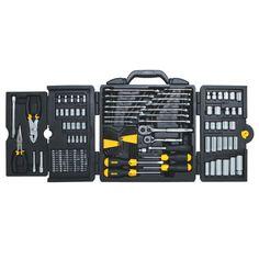 Stanley 97-543 150-Piece Mechanics Socket and Tool Set - Tools - Tool Sets - Mechanics Tool Sets
