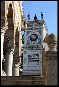 Udine, Friuli Venezia Giulia. Italy  Clock Tower.province of Udine, FRIULI Venezia GIULIA region of Italy